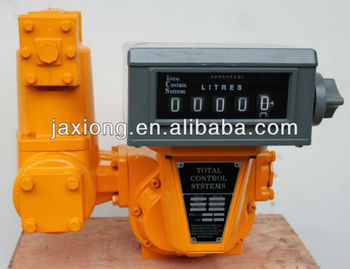 positive displacement meter / mass flow controller