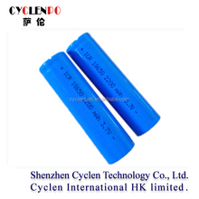 Best selling 18650 rechargeable li-ion battery 3.7v 2200mah lithium-ion battery for medical devices