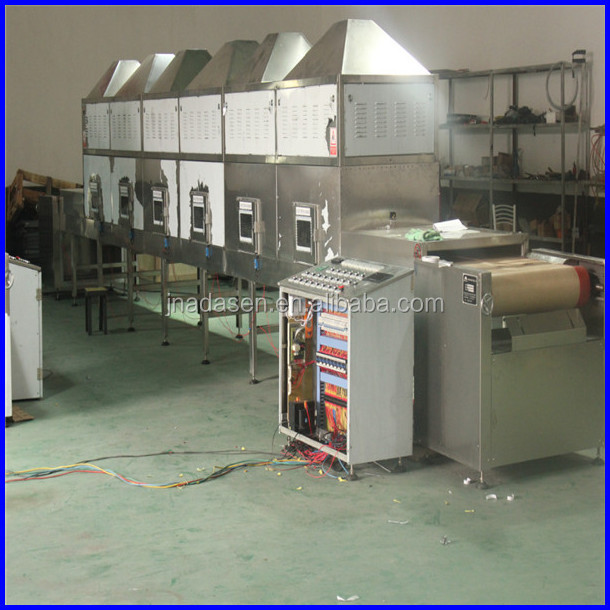 microwave Alfalfa / herbs drying machine