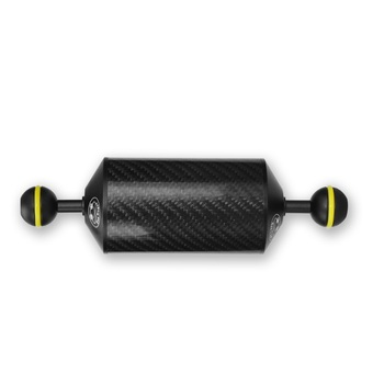 "Meikon daul ball Carbon Fiber diameter 60mm  7"" Buoyancy Floating ball arm for Diving equipment  Buoyancy arm"