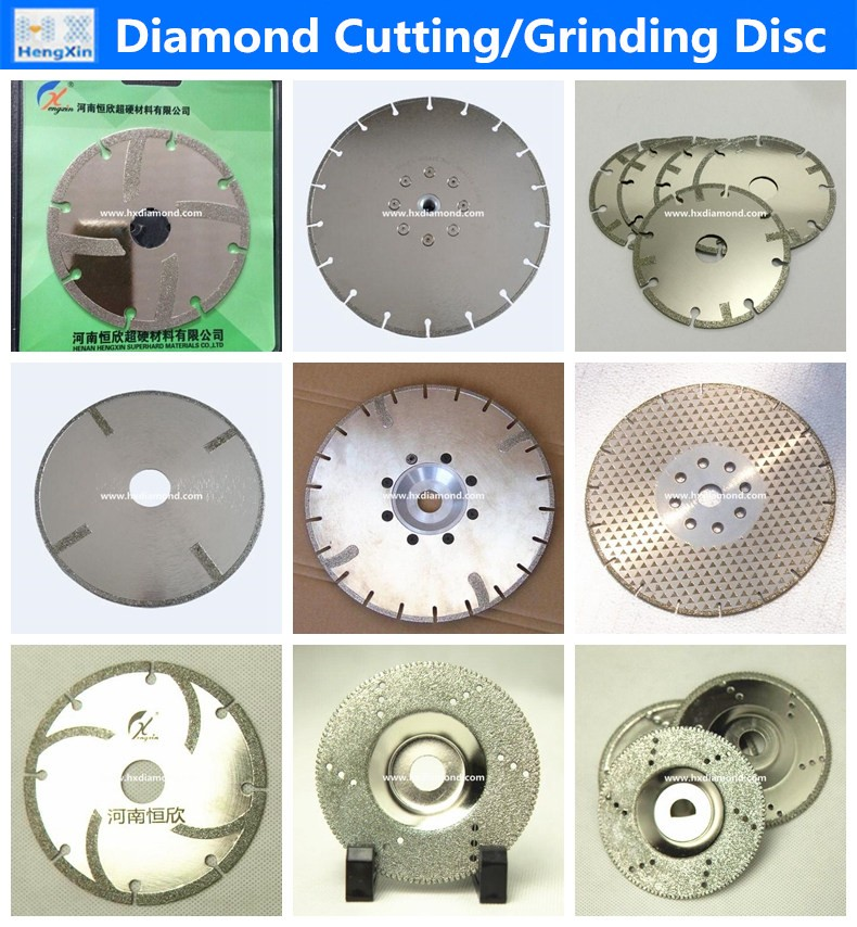 made in china best price electroplated diamond grinding disc for power tools