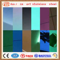 Elevator Cabin Decorative Mirror Finishing Stainless Steel Sheets Factory Competitive Price
