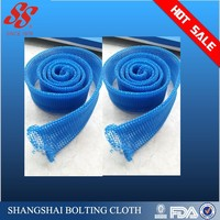 blue silencer knitted wire mesh