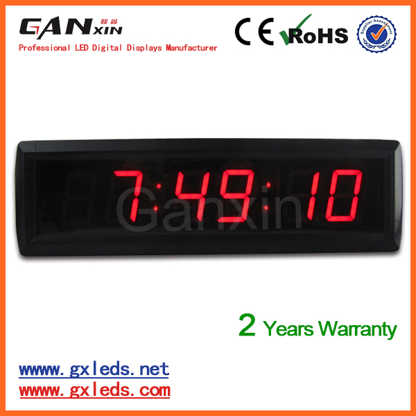 [Ganxin] 1.8inch 6digital home decoration Digital screen time Clock <strong>LED</strong> <strong>Display</strong> for Indoor Usage