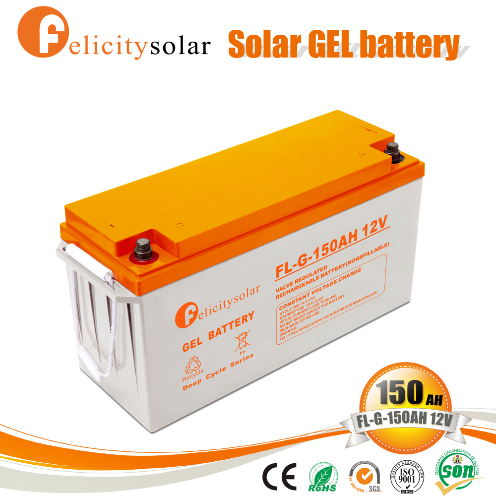Rechargeable gel gel lead acid battery for United Arab Emirates
