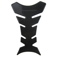 YOUME 1pcs Carbon Fiber Tank Pad Tankpad Protector Sticker For Motorcycle Universal Fishbone