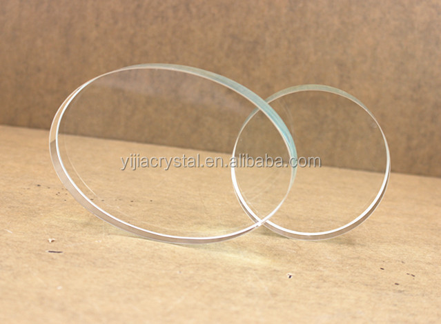high quality k9 round blank crystal