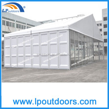 20x30 ABS and glass wall large outdoor party wedding tent hot sale