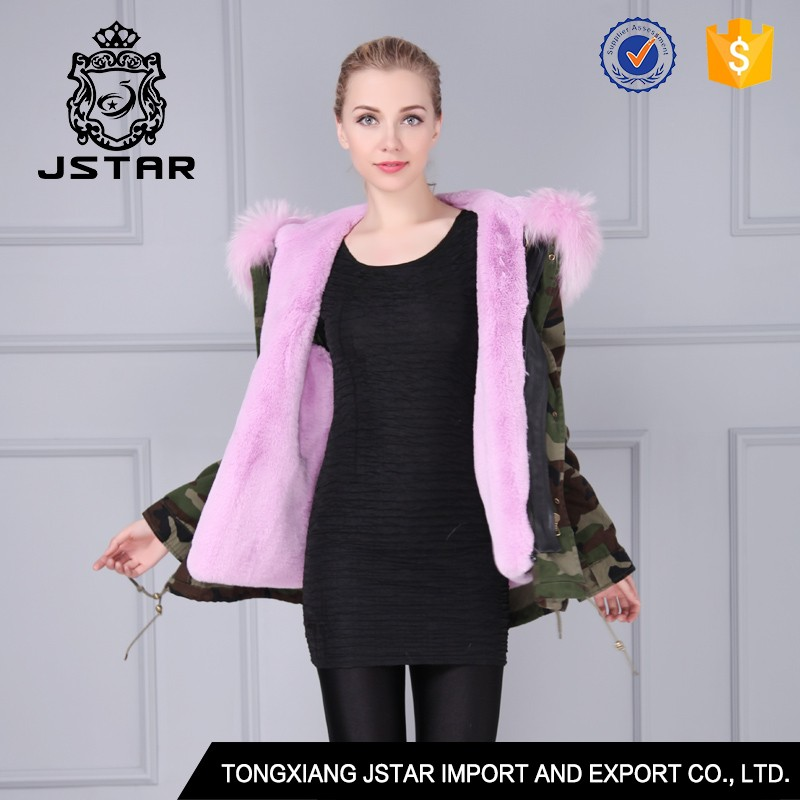 Soft touching fancy faux fur coat women with MR MRS furs jackets