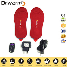 Heated Insole, USB Rechargeable Heated Shoes Insoles Boot Warmer Cut-to-Fit Multiple Sizes for Hunting Fishing Hiking Camping