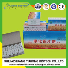 Effective Aluminium Phostoxin 56% Tablet Pellet Storage Fumigant
