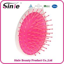 2017 hot sell mini kids cute plastic hair brush for children