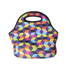 Beautiful new style neoprene insulated lunch tote