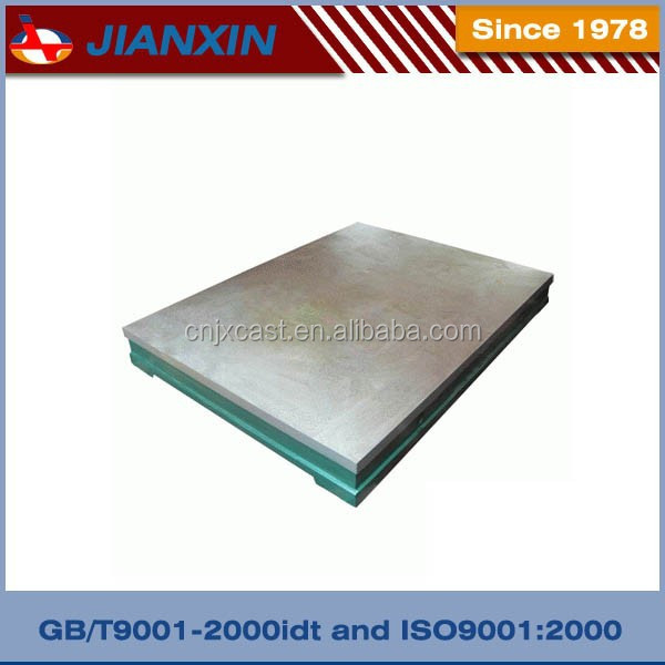 Cast iron inspection surface table