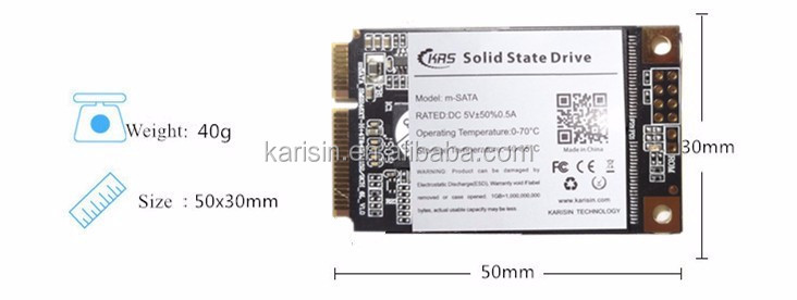 Karisin mSATA ssd 240gb cheap used hard drives