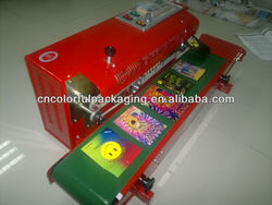 heat seal machine/spice herbal incense bags machine