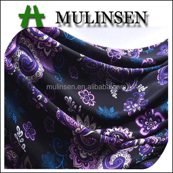 New arrival stretch fashion garment fabric material 96 polyester 4 spandex