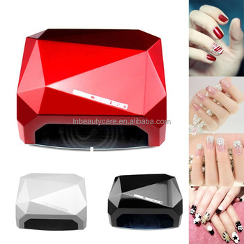 Promotion !!! Only US$23.99/PCS High power 12W CCFL + 24W LED Diamond Nail UV Lamps Quick Dry In 10-30S