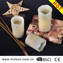 Wholesale battery operated taper candles for home decoration