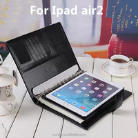 Tablets cases for ipad air2 Wallet Stand Notebook Business briefcase Apple ipad 6 leather case 9.7 inch protective sleeve