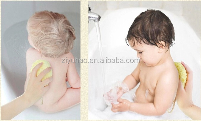 Promotional Multicolor Body rubbing Ball kids Baby Bath Sponges /baby sponge
