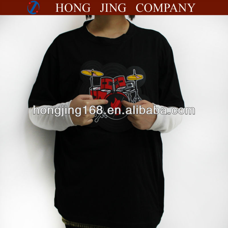 Electronic Drum kit T-Shirt for playing