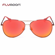 Popular double bridge sun glasses metal polarized sunglasses selling well over the world