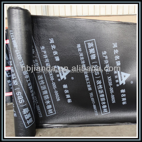 Waterproofing membrane Torch on roofing felt
