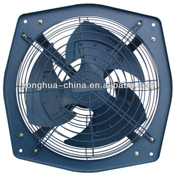 Factory Powerful Metal Exhaust Fan/industrial ventilating Fan/wall mounted exhaust Fan/low noise/100% copper motor