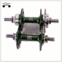 Novatec Brand Double Sealed Bearing Alloy Track Hub