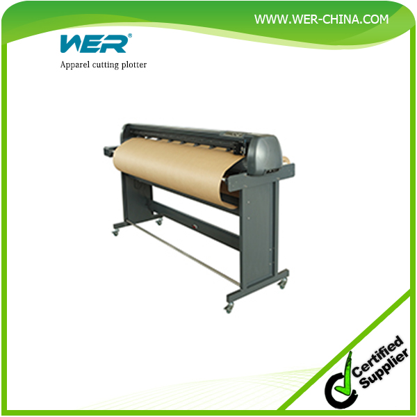 High Stability advanced drawing arithmetic both as a cutter and as a plotter apparel cutting plotter