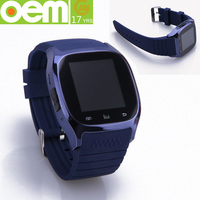 OEM design various custom silicone wristband watch
