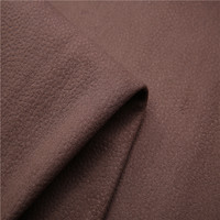 Shrink-resistant made in china suede bonded faux fur fabrics