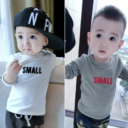 $1 Baby Clothes Wholesale Baby Boys Casual T-Shirt 6xl Long Sleeve Blank T-Shirts