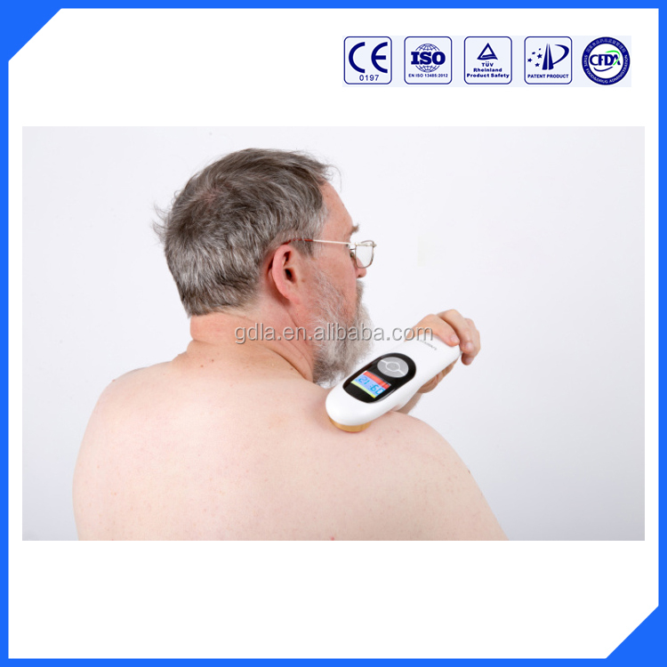 Neck Cervical therapy equipment and back pain relief managment low level laser physical therapy apparatus