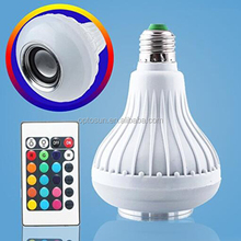 Good Looking Wifi Intelligent High Hat Led Bulb Rgb Speakersound Bulb Smart Bulb