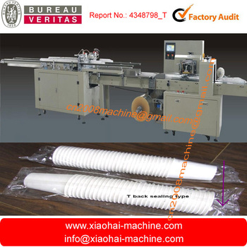 plastic cup counting packing machine