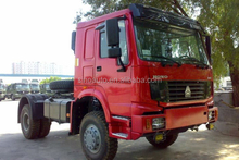 CNHTC all wheel drive tractor truck 4x4 / truck chassis for sale