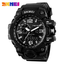 5atm Waterproof Sport Watches For Men Skmei Digital Analog Wrist Watch #1155