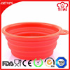 Wholesale silicone bowl, food grade silicone pet bowl, hot products sell online prosilicone dog bowl