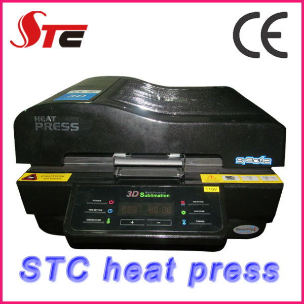 CE approved machine sublimation 3 d