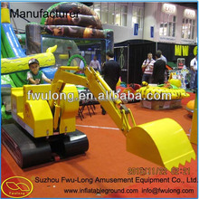 Mini Digger Kids Toys Excavator Children amusement sandbox excavator with best price