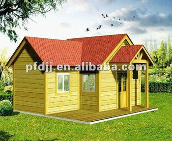 High Quality With Low Price Luxury Movable Wood House
