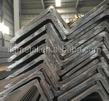 unequal angle steel, hot dip galvanized or hot rolled