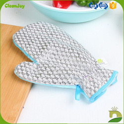 wood fiber kitchken hand designer dish gloves