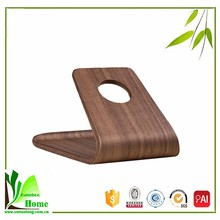 Durable and precise natural bamboo phone desk stand for iPhone ,SAMSUNG