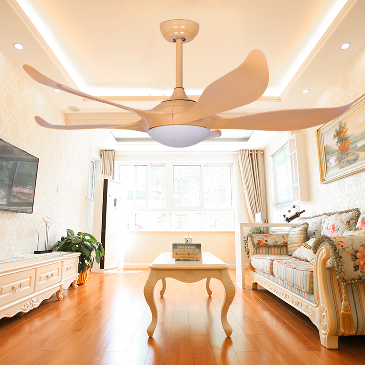 Guzhen Light Market Factory Price Modern Decorative Air Cooling Ceiling Fan With LED Lights