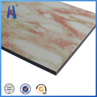 marble aluminum plastic sandwich composite panel,heat resistant wall panel