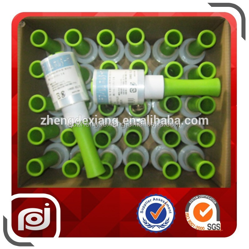 Hot film lldpe 20 micron mini roll stretch film 100mm
