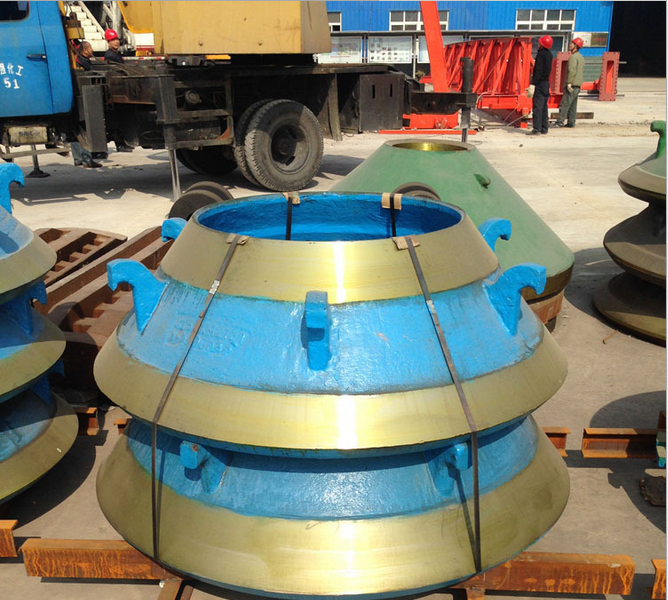 Cone crusher bowl liner mantle for Metso Nordberg HP & MP Series